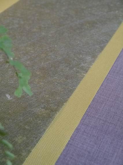 綠防水龍雲茶巾和亮黃布茶巾-2