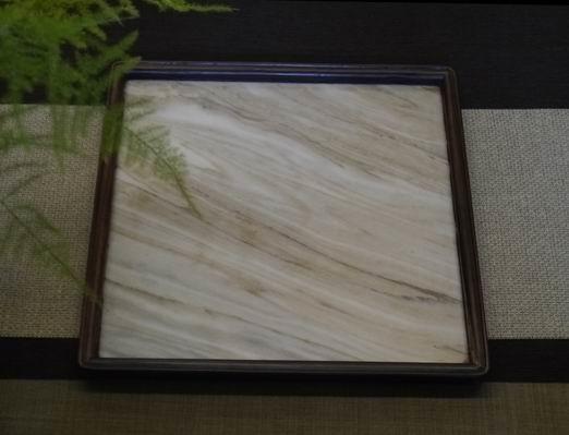 a31日本石盤茶盤、壺承-1