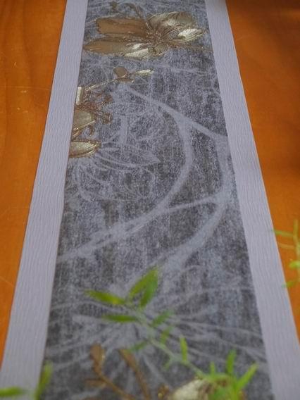灰藍金花茶巾-05