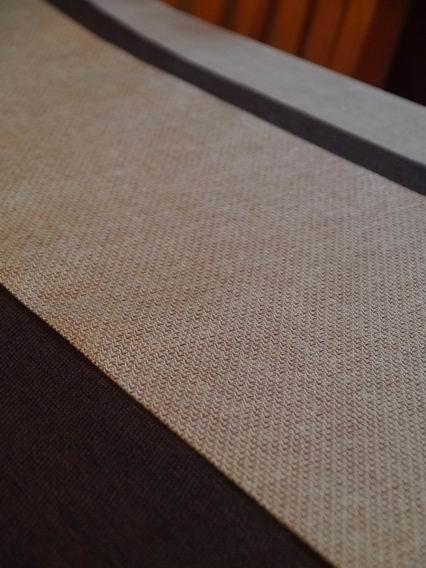 深咖啡+金格紋茶巾-3