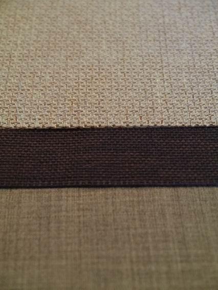 深咖啡+金格紋茶巾-4
