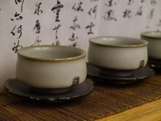 青瓷土樓杯-3