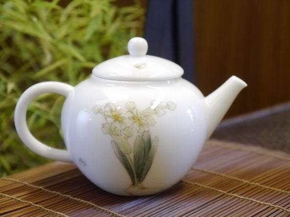 水仙小瓷壺-5