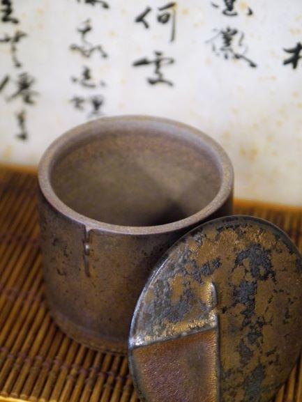 A46康嘉良墨金小陶茶罐-4.JPG