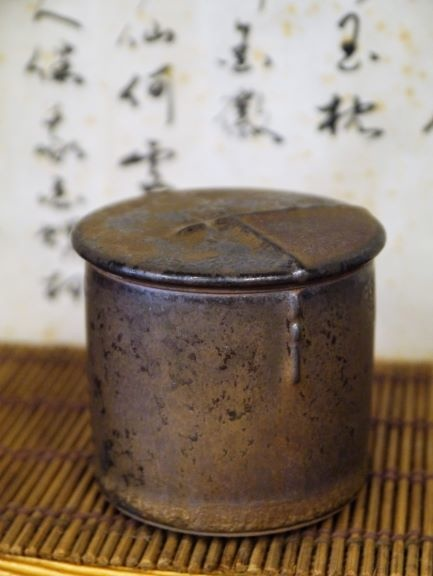 A46康嘉良墨金小陶茶罐-1.JPG