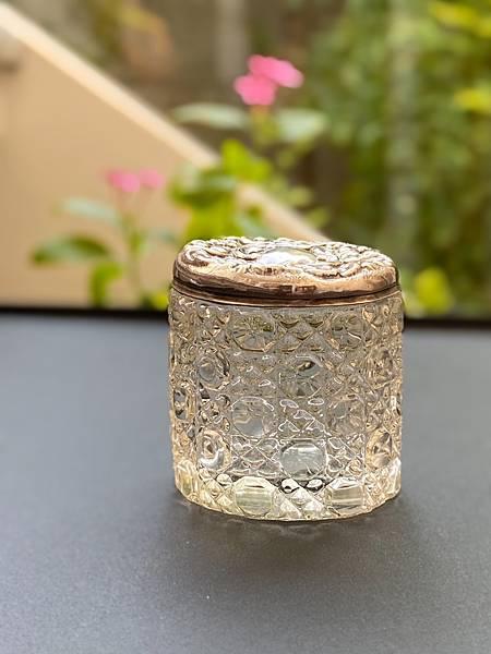 英國純銀蓋手工玻璃罐-1.jpg