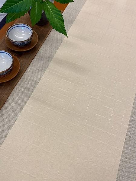 淺米黃格紋防水茶巾-4。.jpg