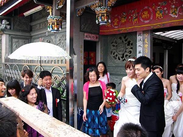 河智&玲容:迎娶