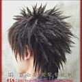 漢男士髮型設計髮根燙