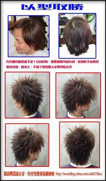 漢男士髮型設計之以型取勝