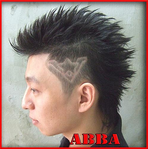 漢男士髮型設計之刻圖髮型a