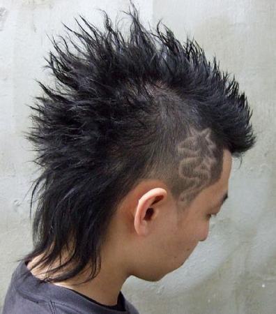 漢男士髮型設計之刻圖髮型c