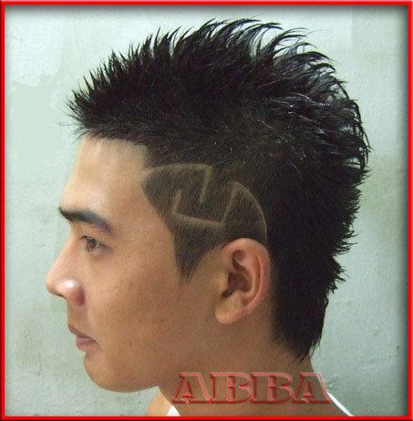 漢男士髮型設計之刻圖髮型e