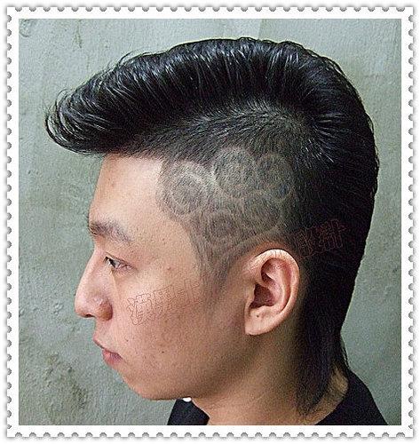 漢男士髮型設計之刻圖髮型g
