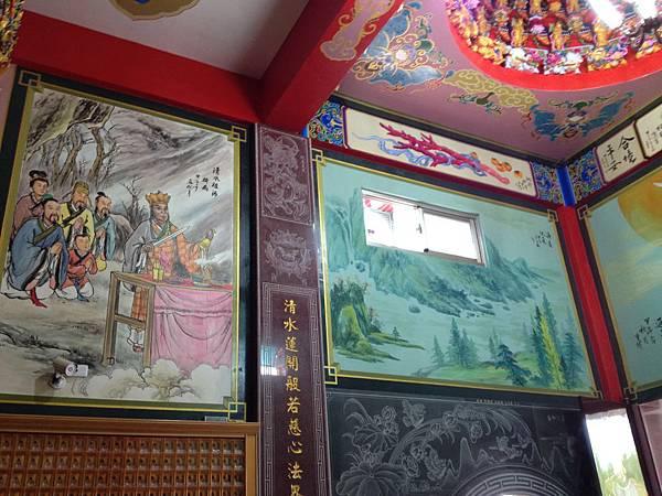 庚辛金 寺廟彩繪