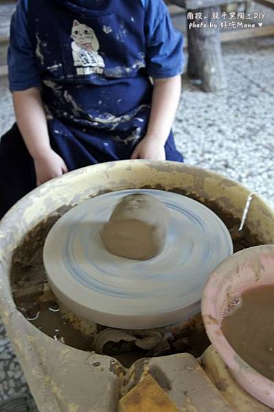 親手窯陶土DIY