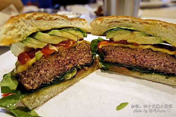 The counter hamburger