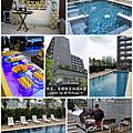 香樹飯店泳池派對