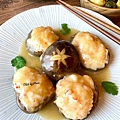 料理女王-鮮蝦鑲菇
