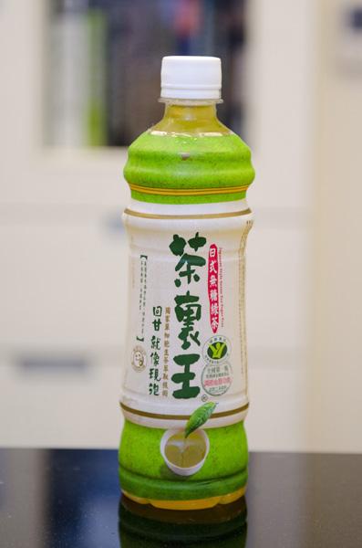 茶裡王日式無糖綠茶