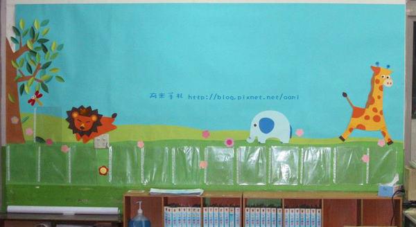 教室佈置2日速成篇...作品園地