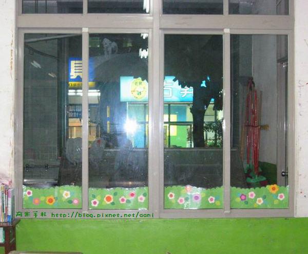 教室佈置2日速成篇...窗戶佈置