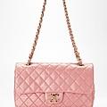 亮粉紅鑲半寶石菱格紋包 售價NT$98,800.jpg