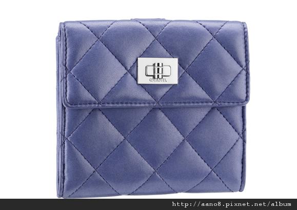 海水藍小羊皮短夾 售價NT$25,000.jpg