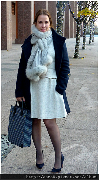 dress the fold london - hayley menzies scarf - gianvito rossi shoes - faure le page bag