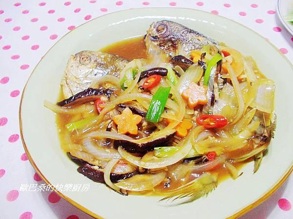 紅燒肉鯧魚 (11)