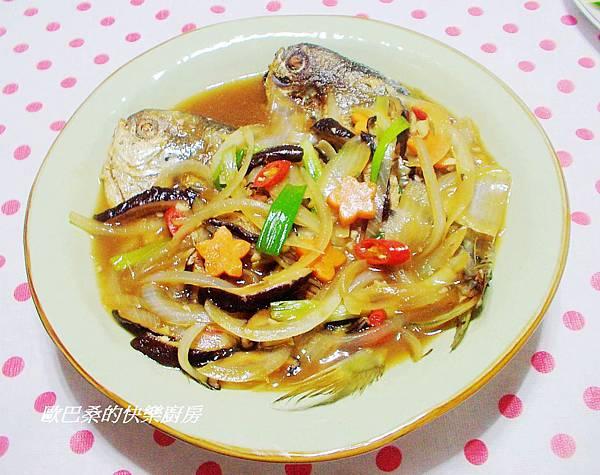 紅燒肉鯧魚 (12)