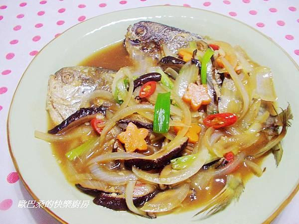 紅燒肉鯧魚 (10)