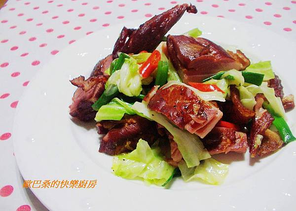 鴨賞炒高麗菜 (7)