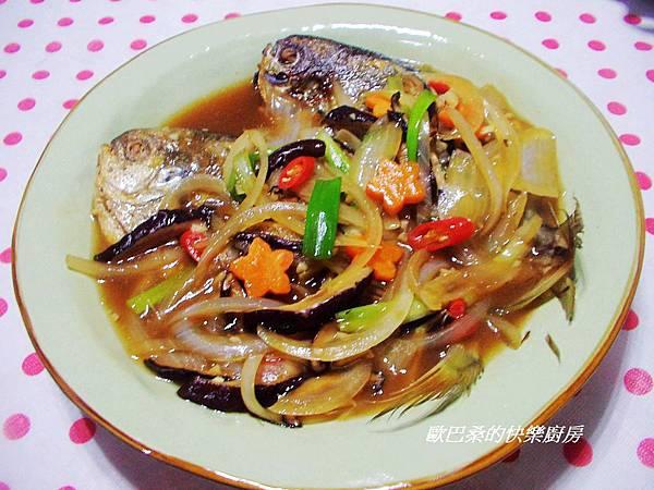 紅燒肉鯧魚 (9)