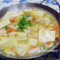 蟹腿豆腐煲 (11)