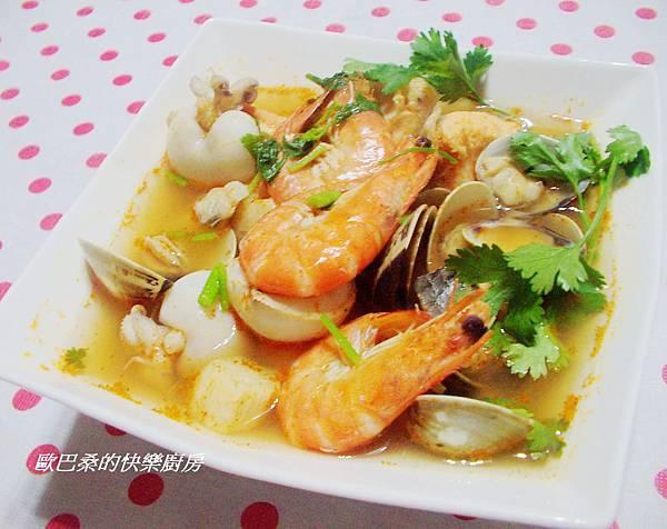 酸辣海鮮湯 (4)