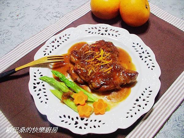 蜜柑醬雞腿排 (9)