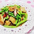 蘆筍鮮菇炒鯛魚片