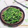麻油薑絲炒龍鬚菜
