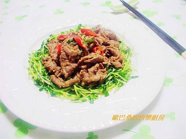 蠔油牛肉 (9)