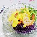 【Oster調理機】優格芒果鮮蝦沙拉