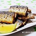 芝麻香秋刀魚