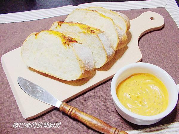 橘蜜奶油乳酪歐風麵包