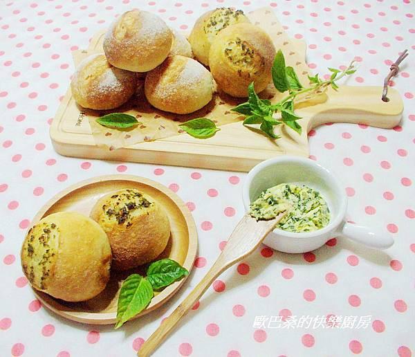 免揉~香草醬法式麵包球