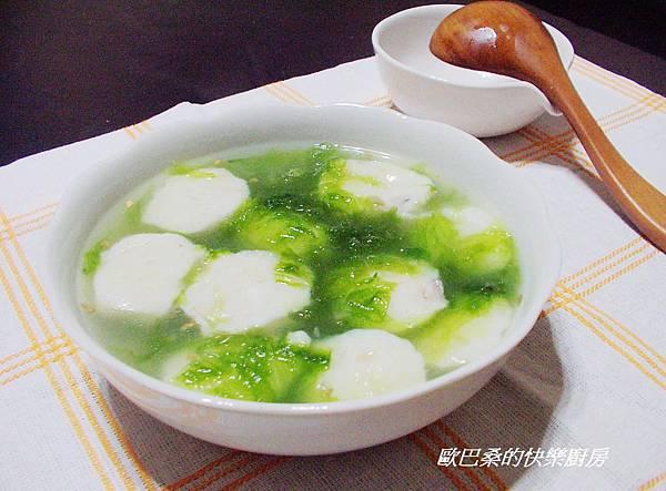 翡翠花枝羹湯