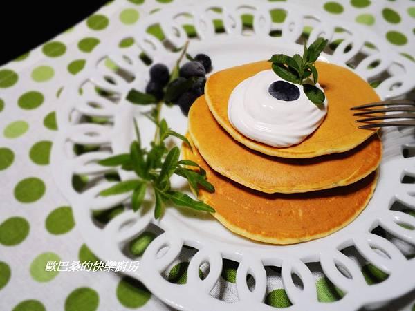【香草料理】~自製檸檬馬鞭草鬆餅