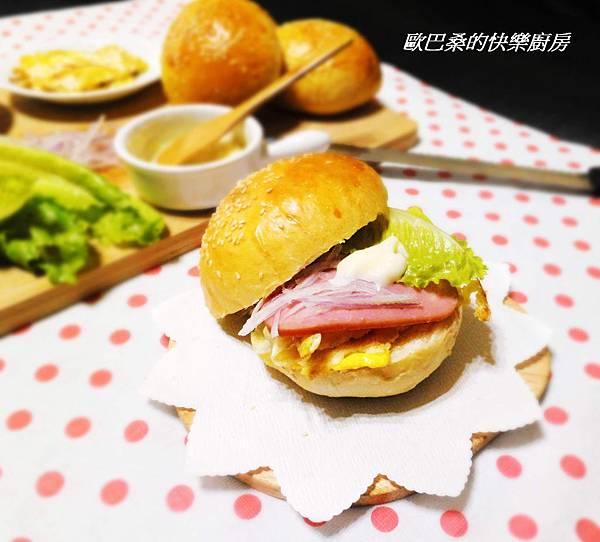 【免揉】~美味家常漢堡