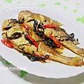 【紫蘇燒黃魚】
