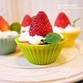 【鮮奶油草莓小蛋糕】
