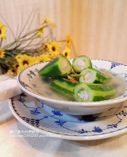 【邀稿】~香茅脆瓜鱈魚湯